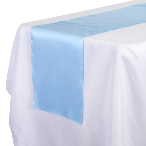 12-Pack, Satin Fabric Table Runner, 14-Inch x 108-Inch