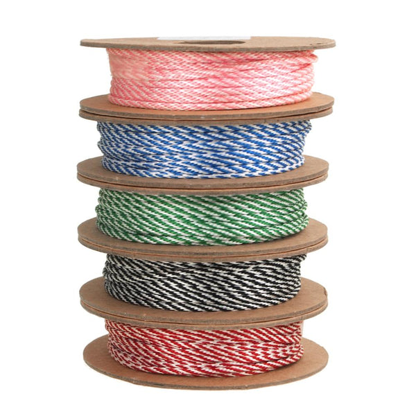 12-Pack, Bakers Twine Ribbon, Made In England, 10 Ply, 22 Yards