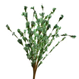 Artificial Wax Perennial Spring Flower Bush, 23-Inch