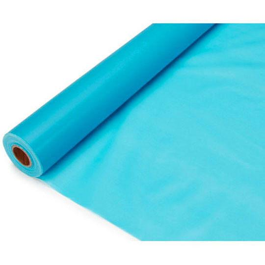 Banquet Plastic Table Roll, 40-Inch x 100-Feet, Turquoise