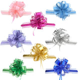 Snow Pull Bow Ribbon, 14 Loops, 2-Inch, 2-Count