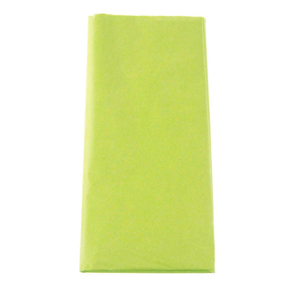 12-Pack, Art Tissue Paper, 20 Sheets, 20-inch x 26-inch, Apple Green