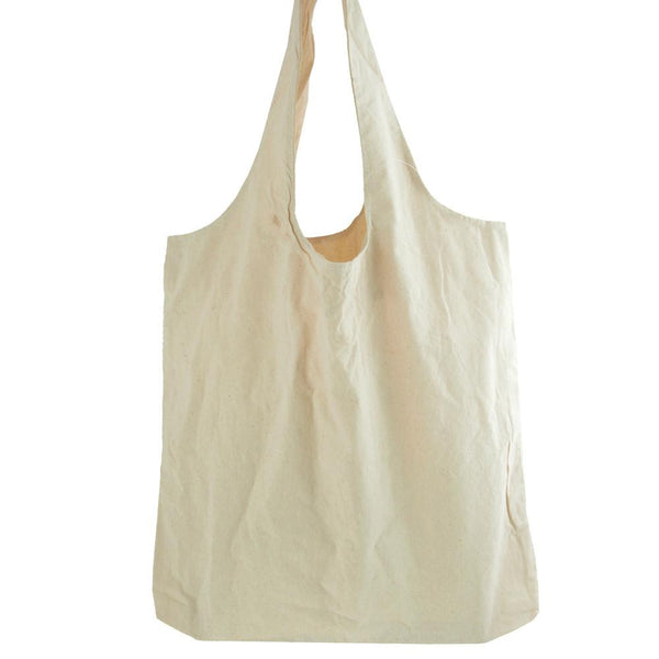 12-Pack, Cotton Tote Shopping Bag, 19-Inch