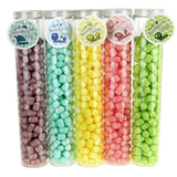 12-Pack, Marshmallow Candy Plastic Tube Party Favor, 200-gram, 12-Inch