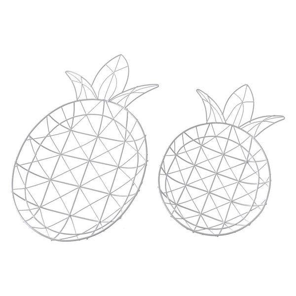 Wire Pineapple Trays, Assorted Sizes, 2-Piece