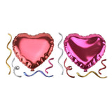 Heart Balloon Puffy 3D Pop-Up Wall Art Stickers, 5-Piece