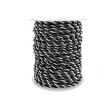 Metallic Twisted Cord Rope Trim, 3mm, 25-Yard