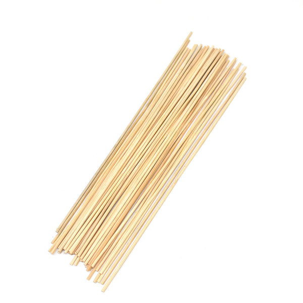 Thin Wood Craft Dowels, Natural, 10-Inch, 85-Count