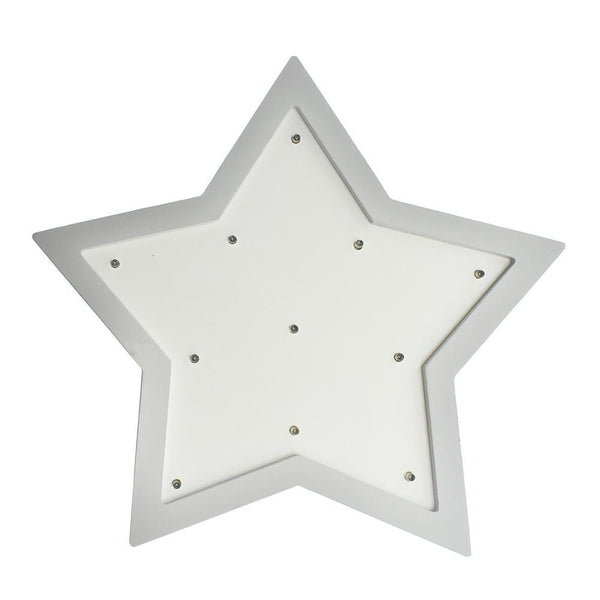 Star LED Light Up Wall Decor, 12-Inch