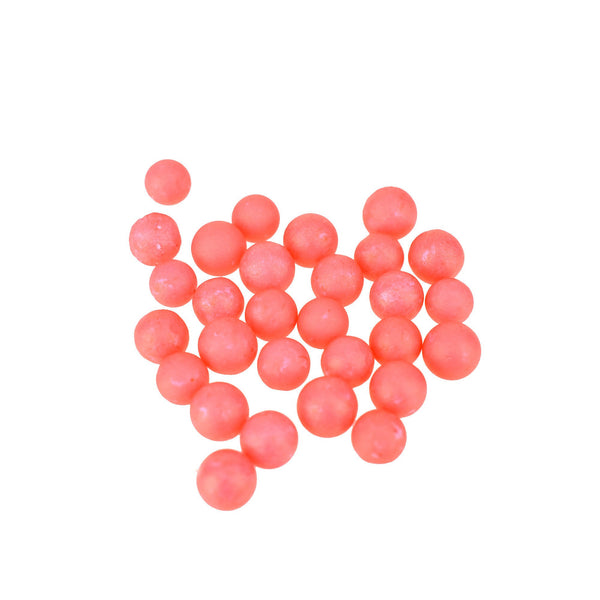 Craft Colorful Polyfoam Balls, 1/4-Inch, 7-Gram, Red