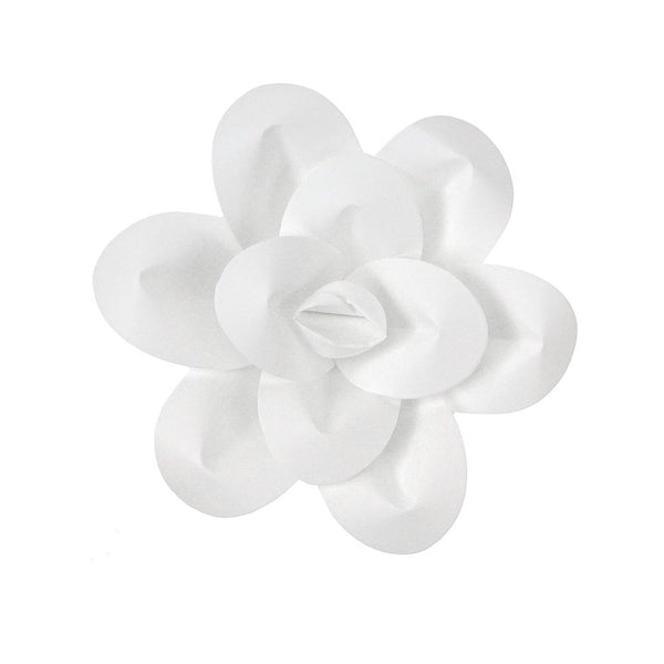 Paper Daisy Wall Flower, 7-1/2-Inch, White