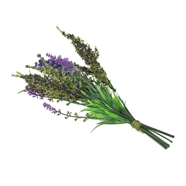 Artificial Lavender Flower Bundle, 11-Inch