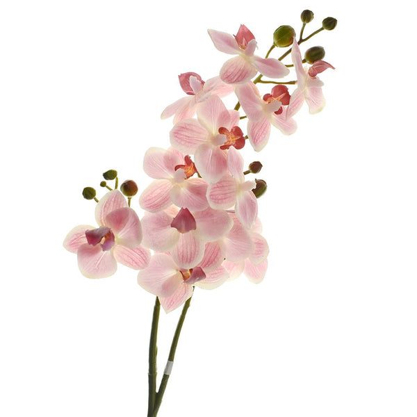 Artificial Miniature Phalaenopsis Spray, Pink, 28-Inch