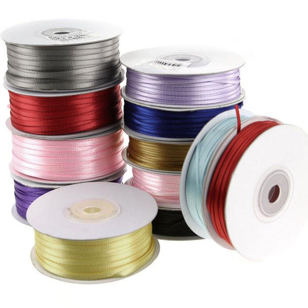 Double Faced Satin Ribbon, 1/8-inch, 100-yard
