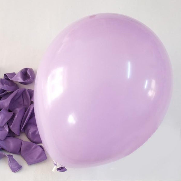 12-Pack, Latex Balloons Party Supplies, 12-inch, 12-piece, Lavender