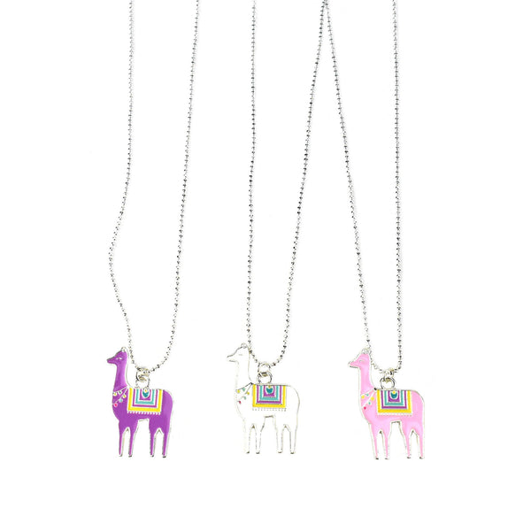 Llama Party Necklaces, Assorted Colors, 19-Inch, 3-Piece