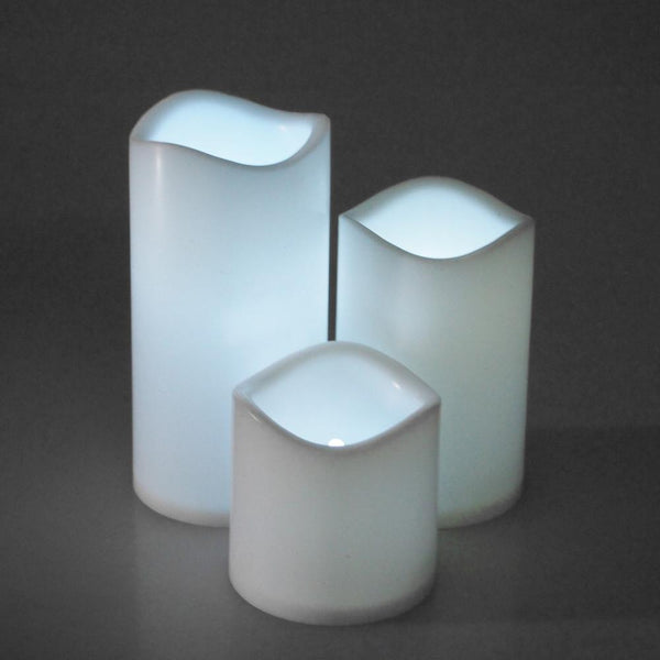 12-Pack, Flameless LED Candle Light, White