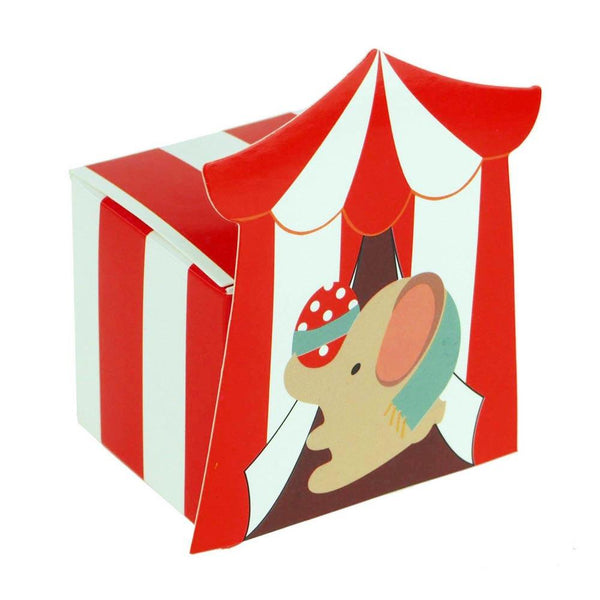 12-Pack, Circus Elephant Baby Shower Favor Boxes, 2-Inch, 12-Piece