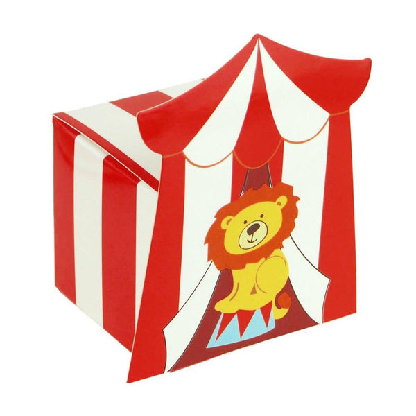 12-Pack, Circus Lion Baby Shower Favor Boxes, 2-Inch, 12-Piece