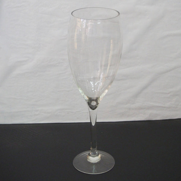Clear Glass Tall Champagne Vase Wedding Centerpiece, 20-Inch