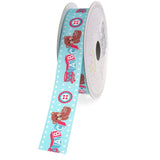 12-Pack, ABC Blocks Grosgrain Ribbon, 7/8-inch, 10-yard