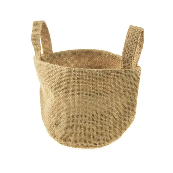 12-Pack, Mini Burlap Tote Favor Bags, 4-1/2-inch, 12-Piece, Small