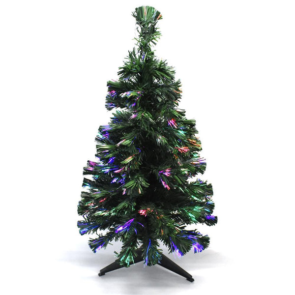 12 Pack, Fiber Optic Artificial Christmas Tree, 3-Feet