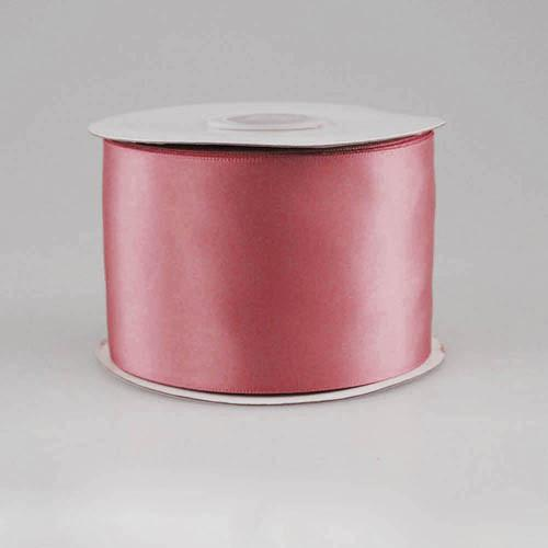 Double Faced Satin Ribbon, 2-1/2-inch, 25-yard, Mauve
