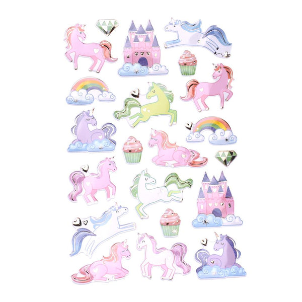 Legendary Unicorn Foil Fun Stickers, 21-Piece