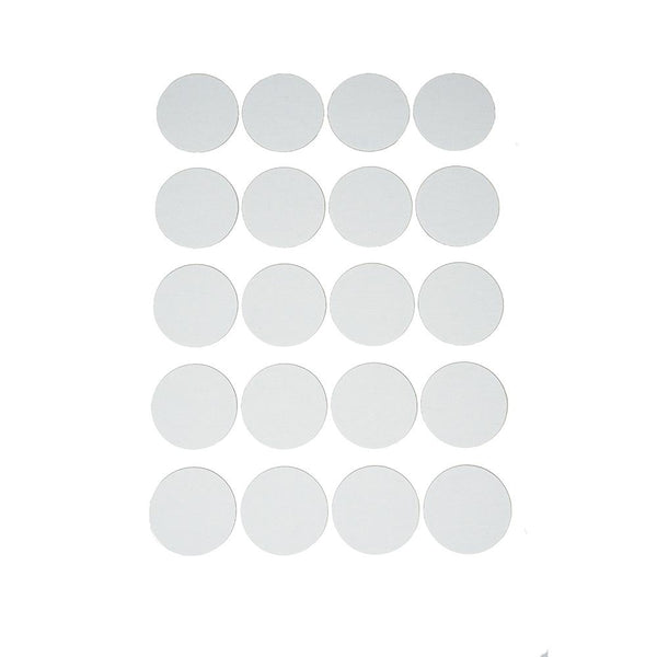 Craft Cotton Canvas Round Stickers, 1-7/8-Inch, 20-Count