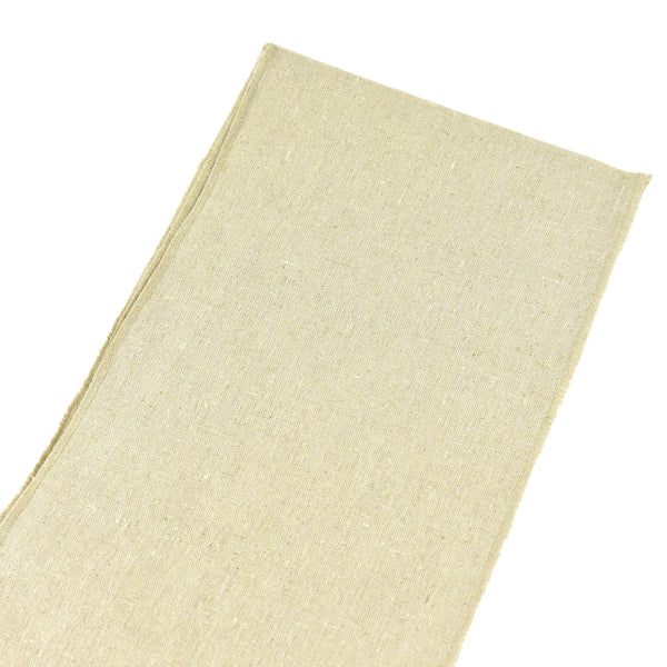 Natural Linen Chair Sash Selvage Edge, 8-Inch, 3 Yards