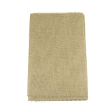 Faux Jute Table Runner with Picot Lace Edge, 14-Inch x 72-Inch