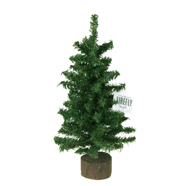 12-Pack, Mini Christmas Tree Artificial Pine Trees, Green, 12-Inch