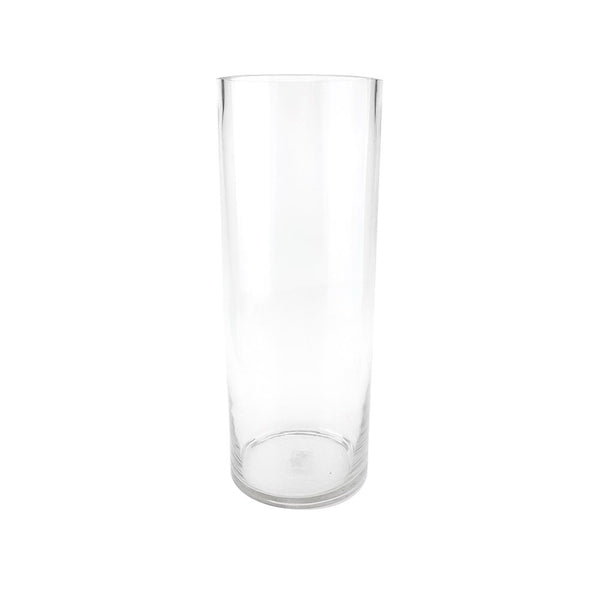 Tall Clear Cylinder Vase, 16-Inch [Closeout]