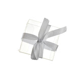 Party PVC Favor Box with Ribbon, Clear, 2-Inch, 3-Count