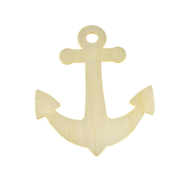 12 Pack, Nautical Anchor DIY Wall Plaque, 8-1/2-Inch