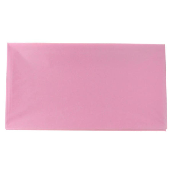 Plastic Table Cover, Rectangular, 54-Inch x 108-Inch, Mauve