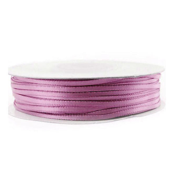 Double Faced Satin Ribbon, 1/16-inch, 100-yard, Rosy Mauve