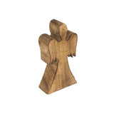 Christmas Angel Wooden Stand, Natural