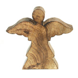 Christmas Flying Angel Wooden Stand, Natural