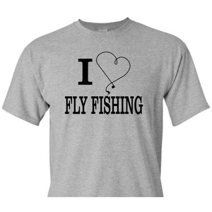 I Heart Fly Fishing, fly fishing shirt, Fishing Shirt, dad gift, fathers day, fisherman gift, dad birthday gift