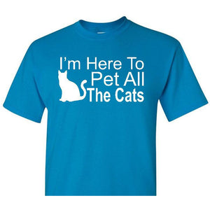 Pet All The Cats, I Like Cats Shirt, Cat Shirt, Cat Lover, Funny Pet Shirt, Cat Lover Shirt, Funny Cat Shirt, Cat Gift, Cat Lover Gift