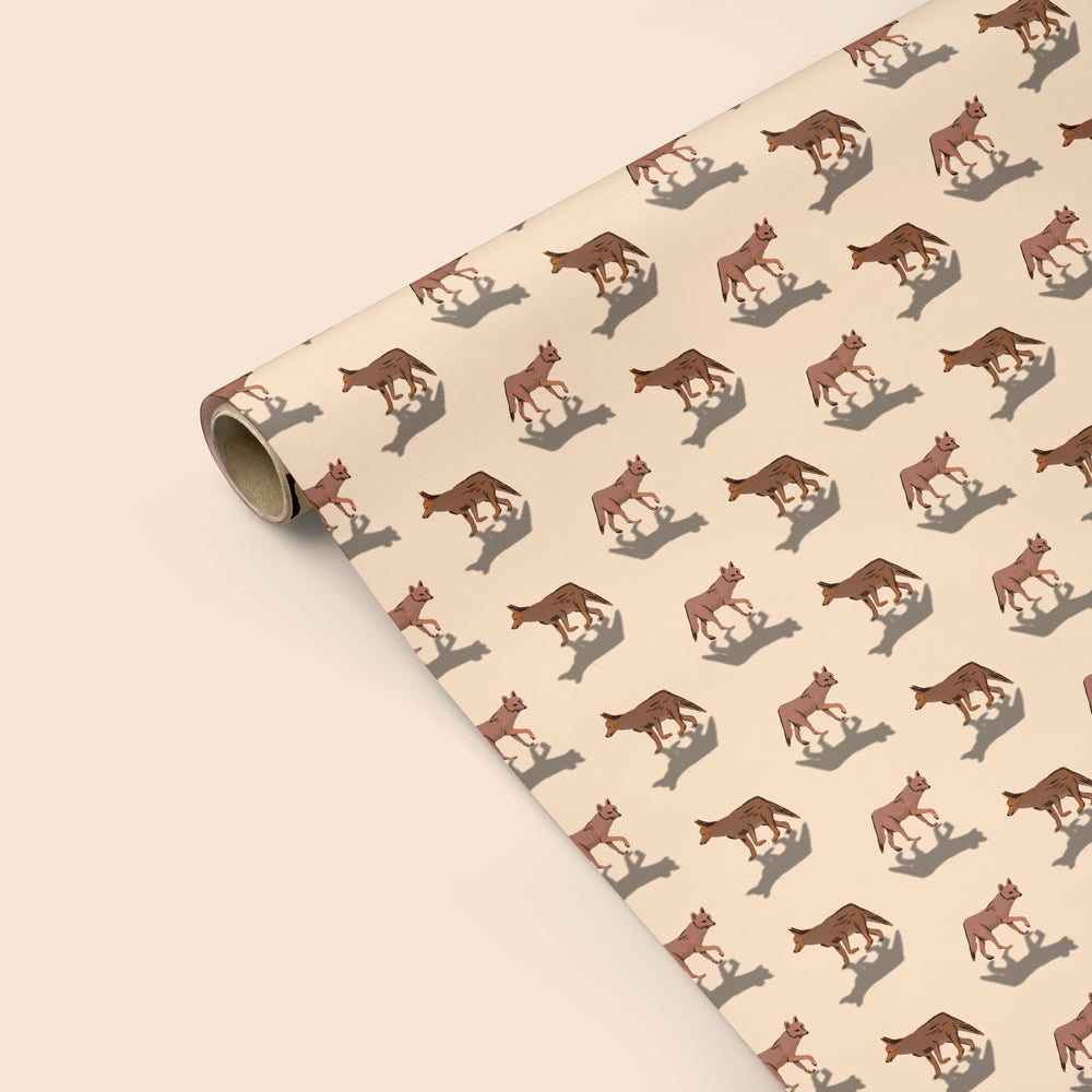 Coyote Wrapping Paper