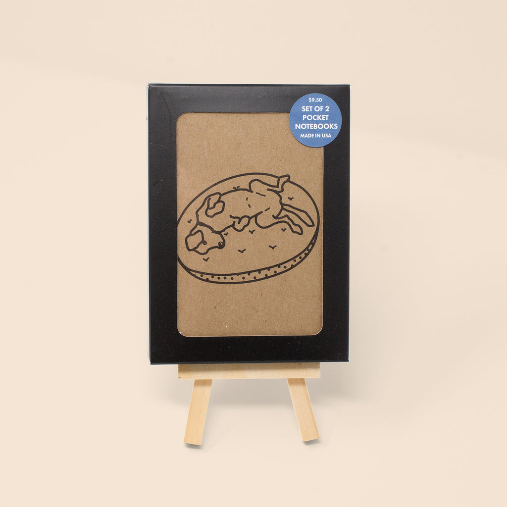 Dog Pocket Notebook