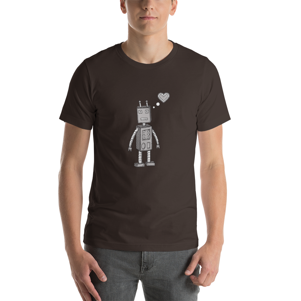 ***Fundraiser for Armenia*** - Robot Love Short-Sleeve Unisex T-Shirt