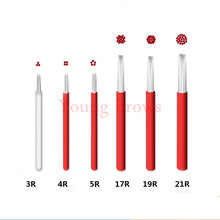 Load image into Gallery viewer, 17 Round Tattoo Needle 0.25mm