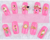 3D Alloy Nail Art