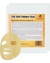 Load image into Gallery viewer, 24K Gold Collagen Mask