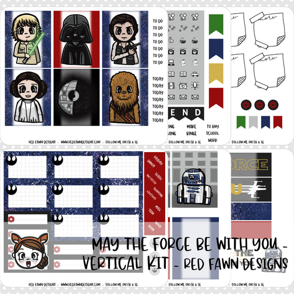 PRINTABLE - May The Force Be With You