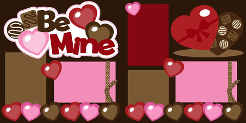 Be Mine Scrapbook Page Kit-Club